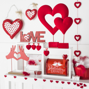 Escaparate de San Valentín Retif