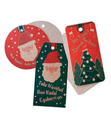 Añade Etiquetas para personalizar los regalos