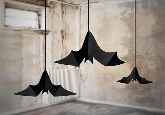murciélagos de decoración de Halloween