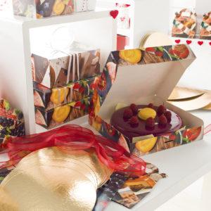 Envoltorio de pastelería de San Valentín