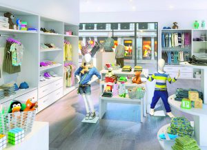 Escaparate infantil idea