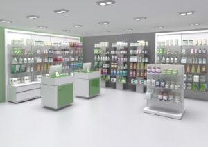 Mobiliario de farmacia