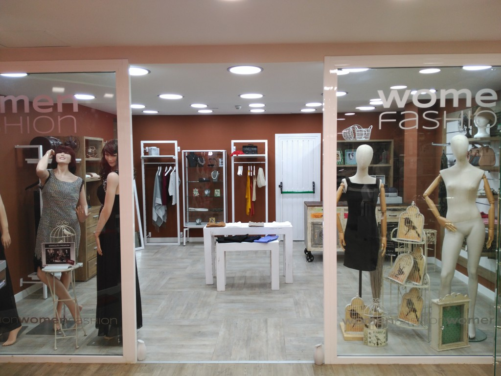 Visual tienda de mujer